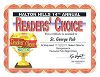 Readers' Choice Winner - Click for letter!